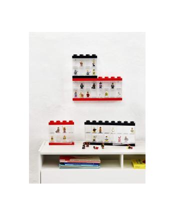 Pojemnik LEGO na 8 minifigurek czerwony