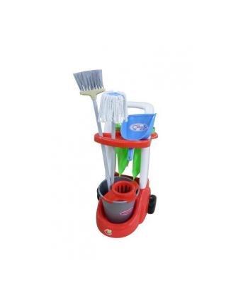 Polesie 46956 Zestaw do sprzątania w siatce