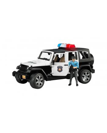 Jeep Wrangler Unlimited Rubicon policyjny (02802) 02526 BRUDER