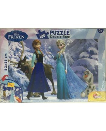 Puzzle dwustronne Plus 108el Frozen V2 LISCIANI