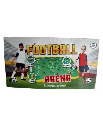 Football arena piłkarzyki plastikowe w pud.