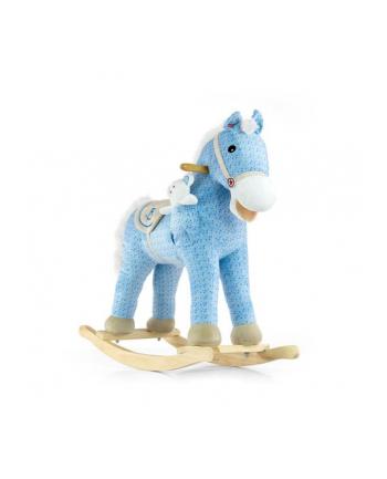 Koń na biegunach Pony blue