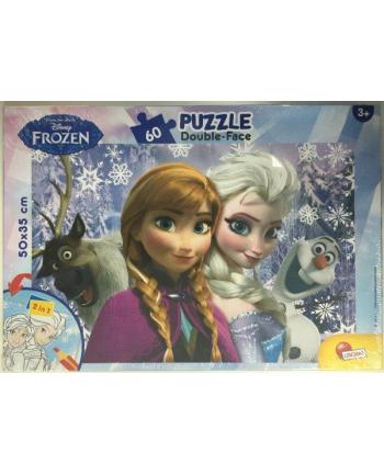 Puzzle dwustronne Plus 60el Frozen V2 LISCIANI