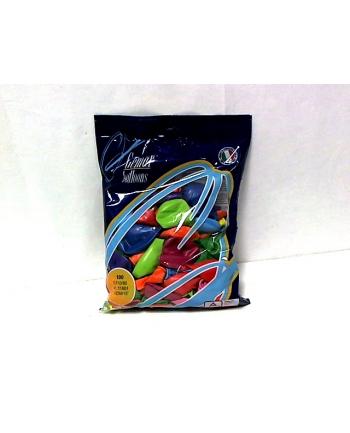 Balon G110 pastel 12 - różnokolorowy 100 szt.