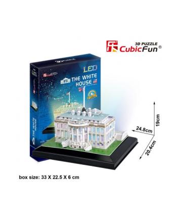 Puzzle 3D LED Biały Dom 20504 DANTE