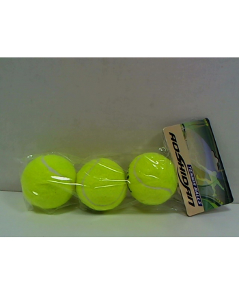 Piłki do tenisa ziemnego 3szt 00677 DROMADER