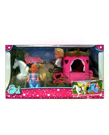 Lalka Evi i Timmy w karecie SIMBA.  (WYSYŁKA LOSOWA, BRAK MOŻLIWOSCI WYBORU)