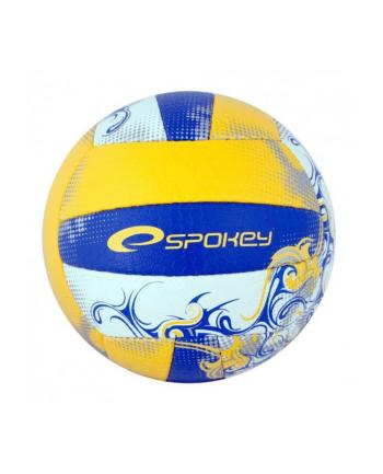 Piłka siatkowa niebiesko-żółta  EOS 837387 SPOKEY