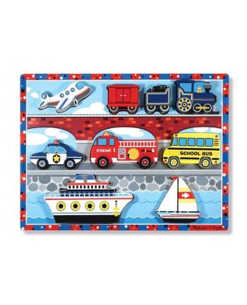 MELISSA Puzzle drewniane Pojazdy 13725