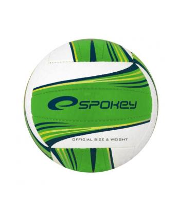 Piłka siatkowa zielono-biała GRAVEL II 837397 SPOKEY