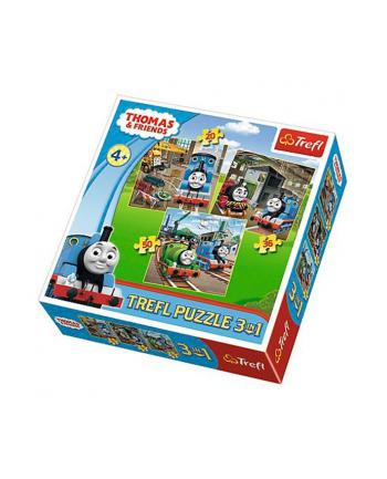 Puzzle 3w1 Tomek rusza do akcji 34821 Trefl