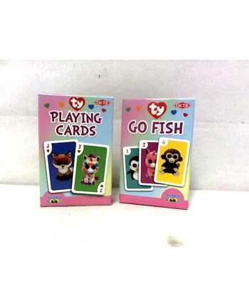 Karty - Ty Go Fish card game 53536 TACTIC