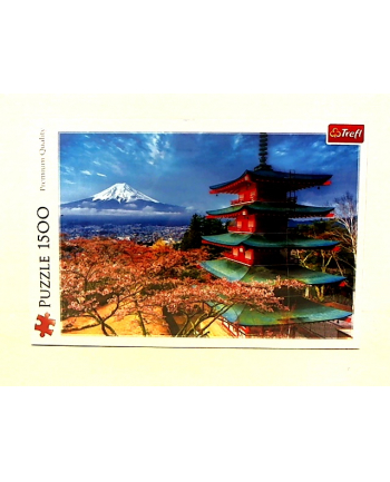 Puzzle 1500el Góra Fudżi 26132 Trefl