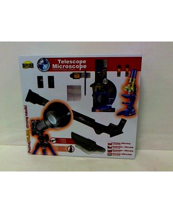 Teleskop + mikroskop zestaw w pud.  DROMADER