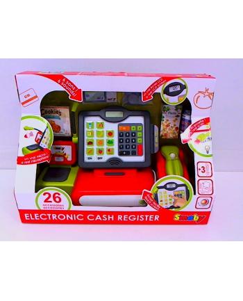 Kasa elektroniczna z dotykowym panelem. SMOBY