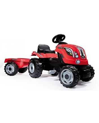 Traktor XL czerwony SMOBY