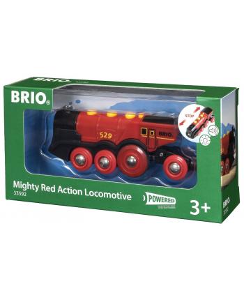 Czerwona lokomotywa 33592 TM TOYS