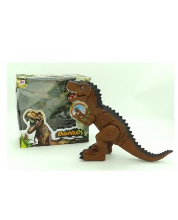 Dinozaur chodzący plastik.w pud.DI804A PIEROT
