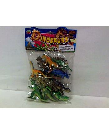 Dinozaury 10cm 12szt w worku HB618/12S  HIPO