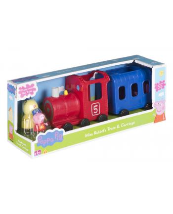 Pociąg Peppy z wagonikiem + figurki 06152 TM TOYS