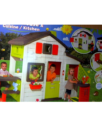 Domek Friends z kuchnią 810200 SMOBY