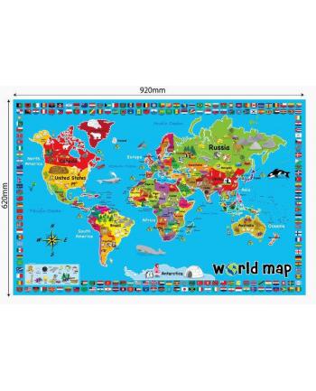 Mata mapa świat w pud. RUSSEL 3287R