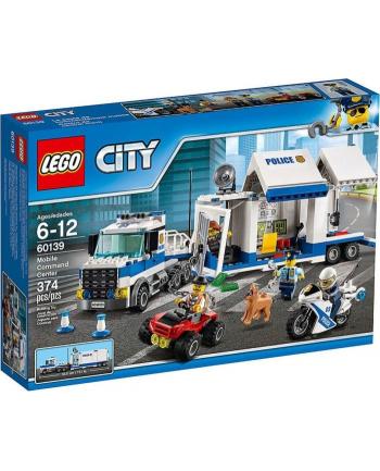 LEGO 60139 CITY POLICE Mobilne centrum dowodzenia