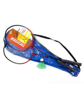 Zestaw do badmintona, metal, pokrowiec 438927 ADAR