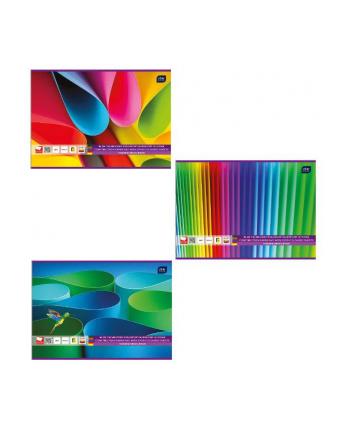 Blok techniczny kolorowy A4 20 barwiony w masie INTERDRUK