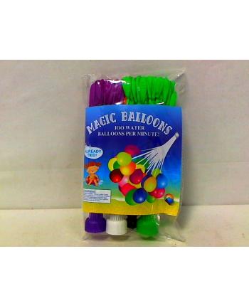 Balony wodne 111szt. 3kol. w worku HIPO