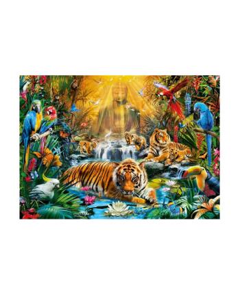 Clementoni Puzzle 1000el HQ  Mystic Tigers 39380