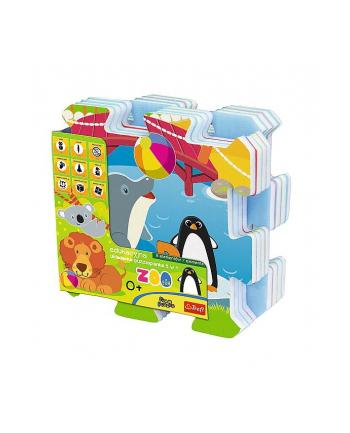 Edukacyjna układanka puzzlopianka Zoo Fun 5 w 1 60695 Trefl