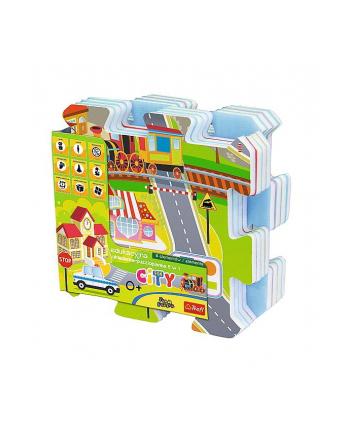 Edukacyjna układanka puzzlopianka City Fun 5 w 1 60697 Trefl