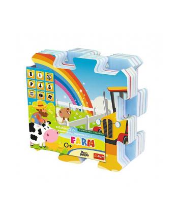 Edukacyjna układanka puzzlopianka Farma Fun 5 w 1 60697 Trefl