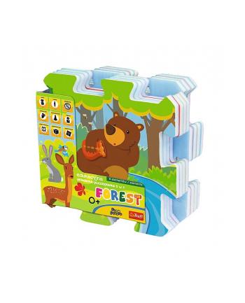 Edukacyjna układanka puzzlopianka Forest Fun 5 w 1 60698 Trefl