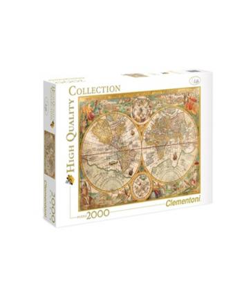 Clementoni Puzzle 2000el HQ  Ancient Map 32557