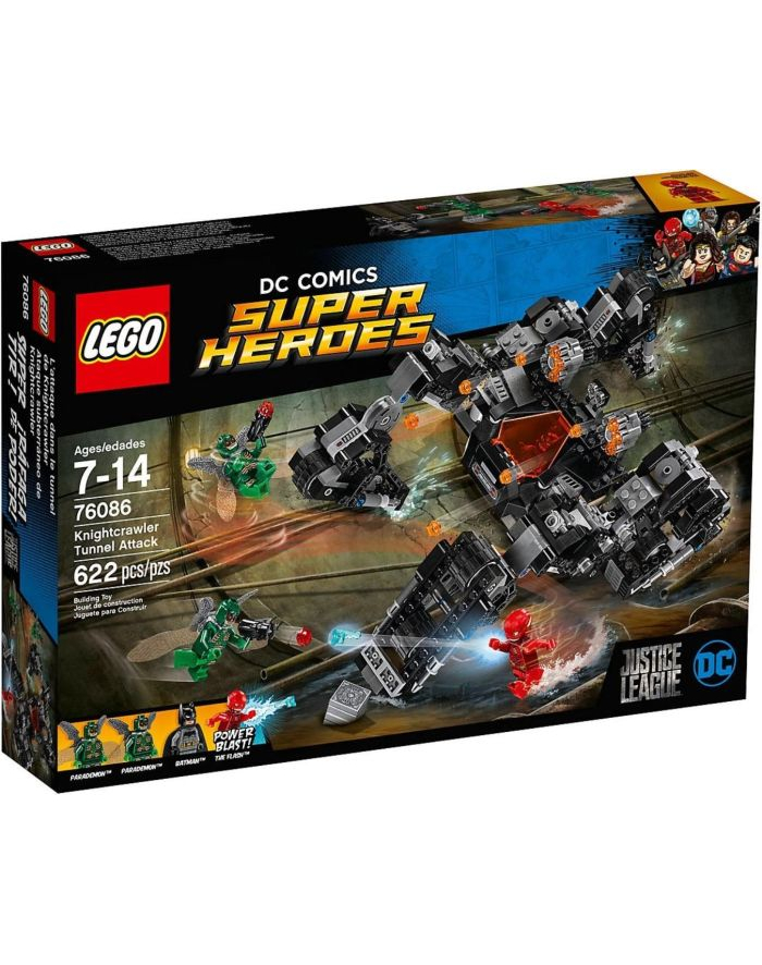 LEGO 76086 SUPER HEROES Atak Knightcrawlera w tunelu p3 główny