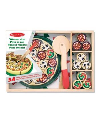 MELISSA Pizza drewniana z bezpiecznym nożykiem 54el 10167