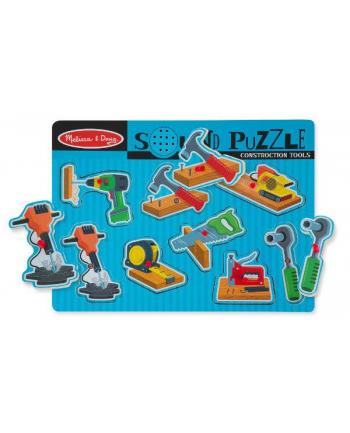 MELISSA Puzzle z dźwiękiem. Narzędzia. 10733