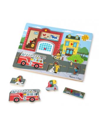 MELISSA Puzzle z dźwiękiem - Straż Pożarna 10736