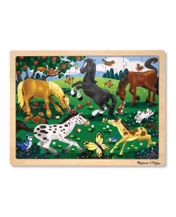 MELISSA Puzzle drewniane - Konie 13801