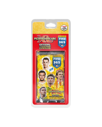 PROMO FIFA 365 Adrenalyn XL 2018 blister z kartami 08766 PANINI