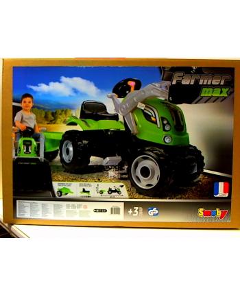 Traktor Farmer MAx z przyczepką SMOBY