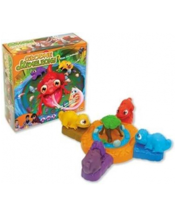 Gra 3D Głodne Kameleony 30110 PIEROT