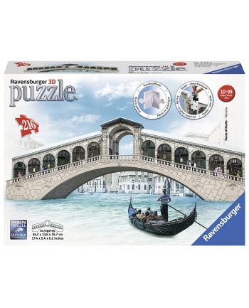 Puzzle 3D 216el Ponte di Rialto Most 125180 RAVENSBURGER