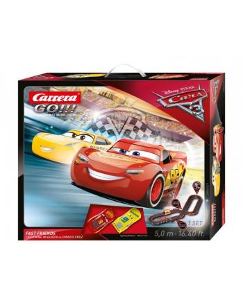 Carrera GO!!! - Cars Auta 3 Fast Friends 62419