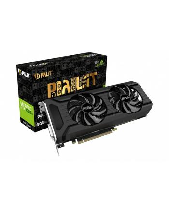 Palit GeForce GTX 1070 Ti DUAL 8GB GDDR5 256BIT DVI-D/3DP/HDMI