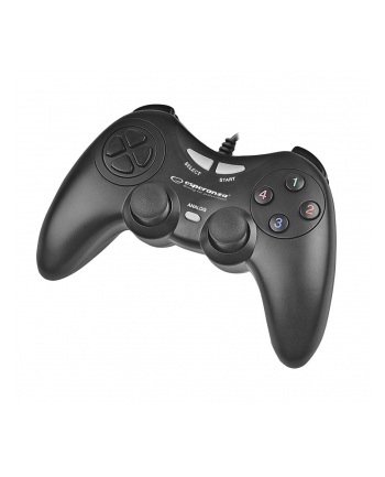 Esperanza GAMEPAD PC USB FIGHTER CZARNY