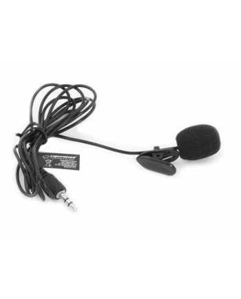 ESPERANZA EH178 VOICE - Mini mikrofon z klipsem do mocowania