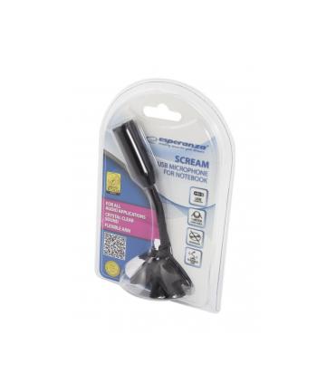 ESPERANZA EH179 SCREAM - Mikrofon USB do notebooka
